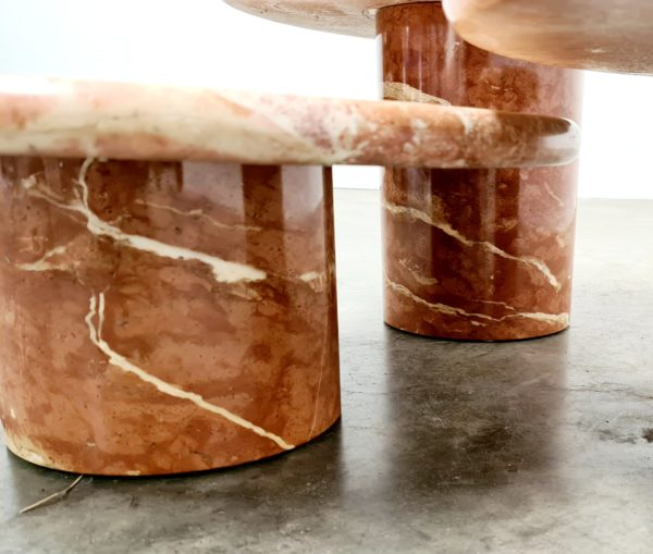 Red Marble coffee table