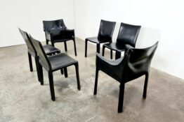 Cassina CAB chairs, Mario Bellini