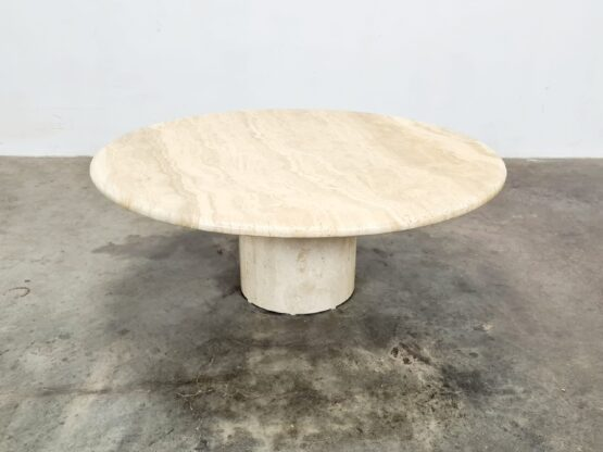 Up&Up travertine coffee table