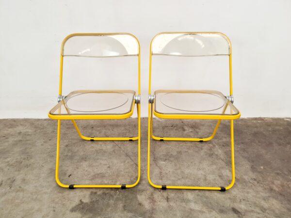 Plia chairs Giancarlo Piretti Castelli
