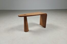 wooden stool, side table