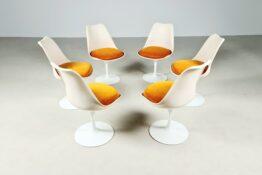Eero Saarinen Tulip chair, Knoll