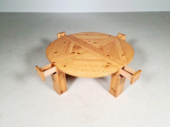 Pinewood coffee table