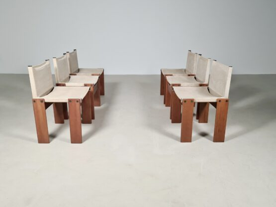 Canvas monk chairs